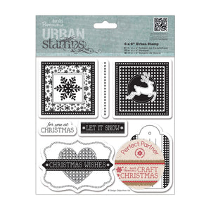 FUORI TUTTO - Urban Stamps (7pcs) - Craft Christmas