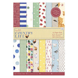 A5 Paper Pack Linen - Country Life