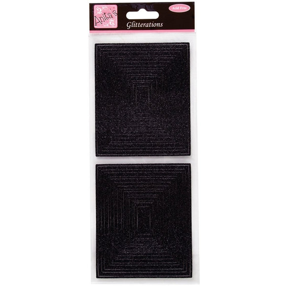 Glitterations Frames Rectangle - Black