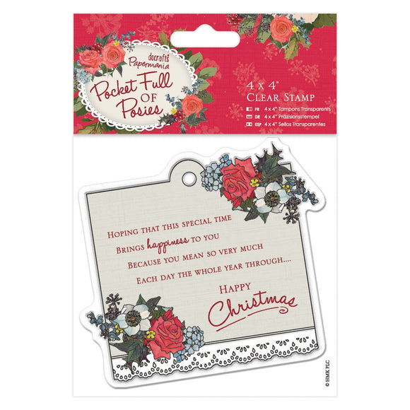 Clear Stamp - Pocket Full of Posies