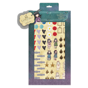 Charm Embellishment Kit - Santoro Gorjuss