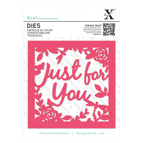 Fustella Xcut - Just for You Topper