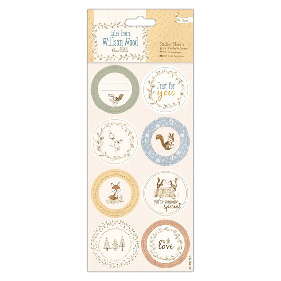! Sticker Sheets - Tales from Willson Wood