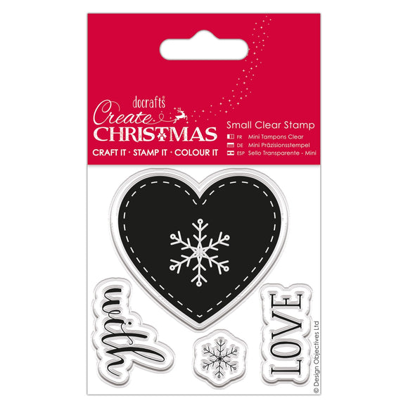 Small Clear Stamps - Nordic Heart