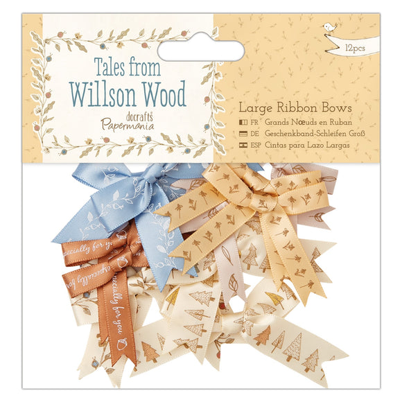 Mix 12 fiocchi larghi - Tales from Willson Wood