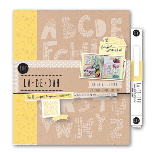 !!! La De Dah Baby Journal & Glue Pen
