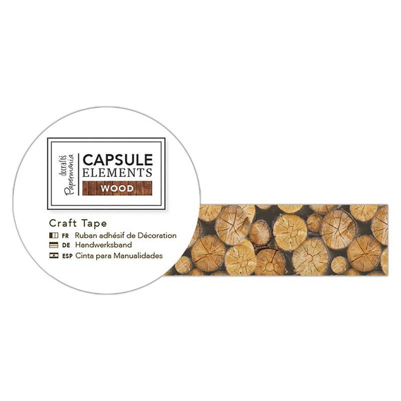 Craft Tape - Elements Wood