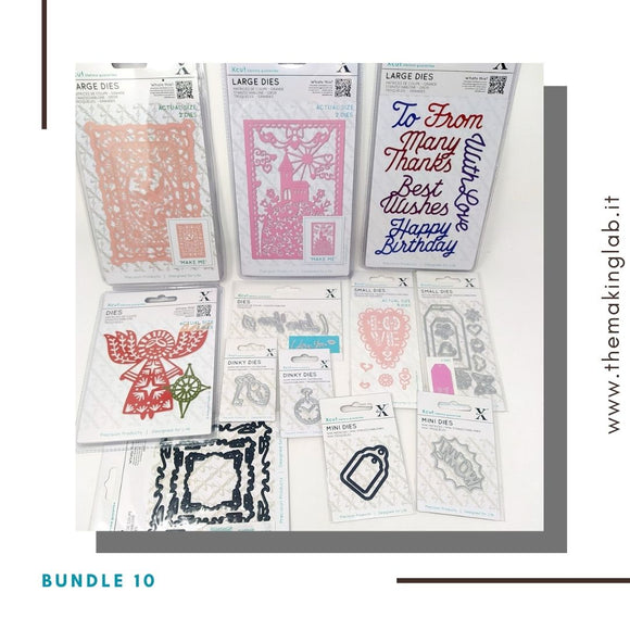 Bundle 10 - Mix fustelle