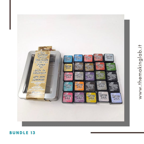 Bundle 13 - Mini Distress Tim Holtz