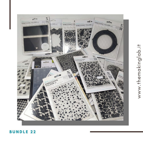 Bundle 22 - Mix fustelle embossing