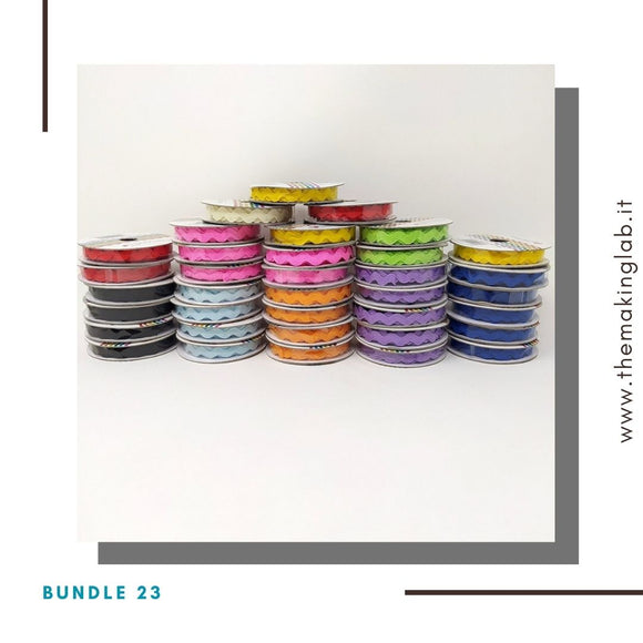 Bundle 23 - Mix 36 nastri ric rac