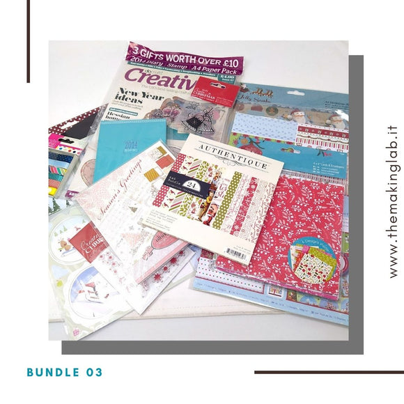 Bundle 03 - Scrapping Christmas