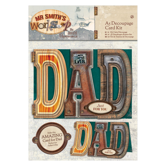 A5 Card Kit - Mr Smith's Workshop