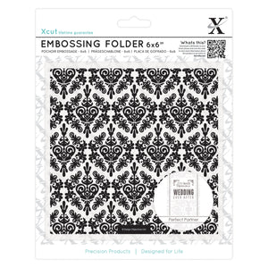 Fustella per embossing 15x15 cm - Damask Background