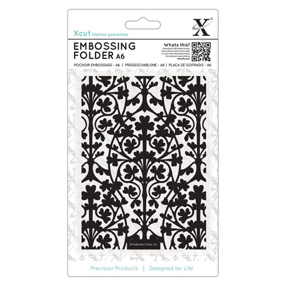 Fustella per embossing A6 - Clover Leaves