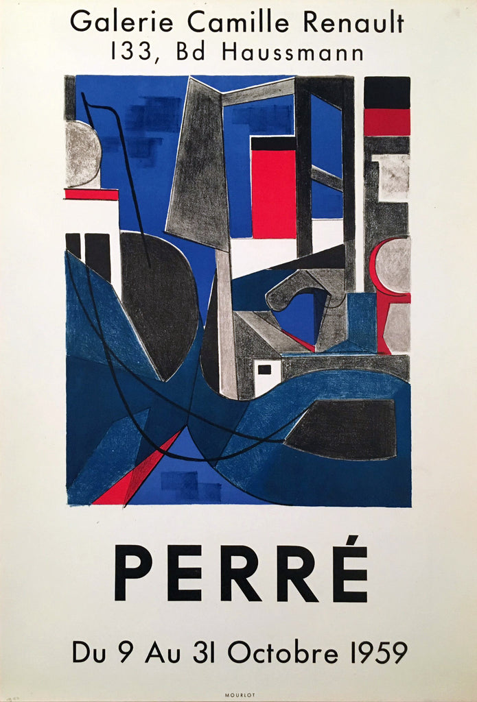 Perre- Galerie Camille Renault (1959) - Original and Authentic Vintage Poster