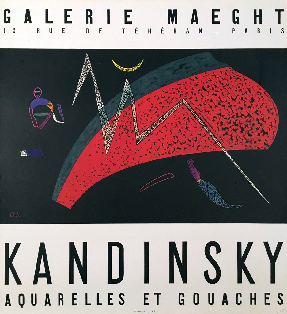 Wassily Kandinsky- Galerie Maeght (1960s) - Original and Authentic Vintage Poster