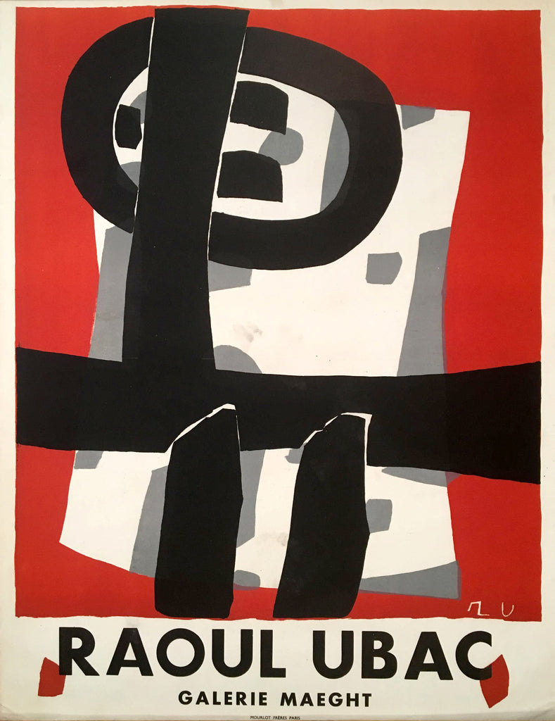 Raoul Ubac- Galerie Maeght (1950s) - Original and Authentic Vintage Poster