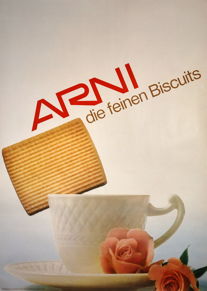 ARNI Biscuits (c1967) - Original and Authentic Vintage Poster