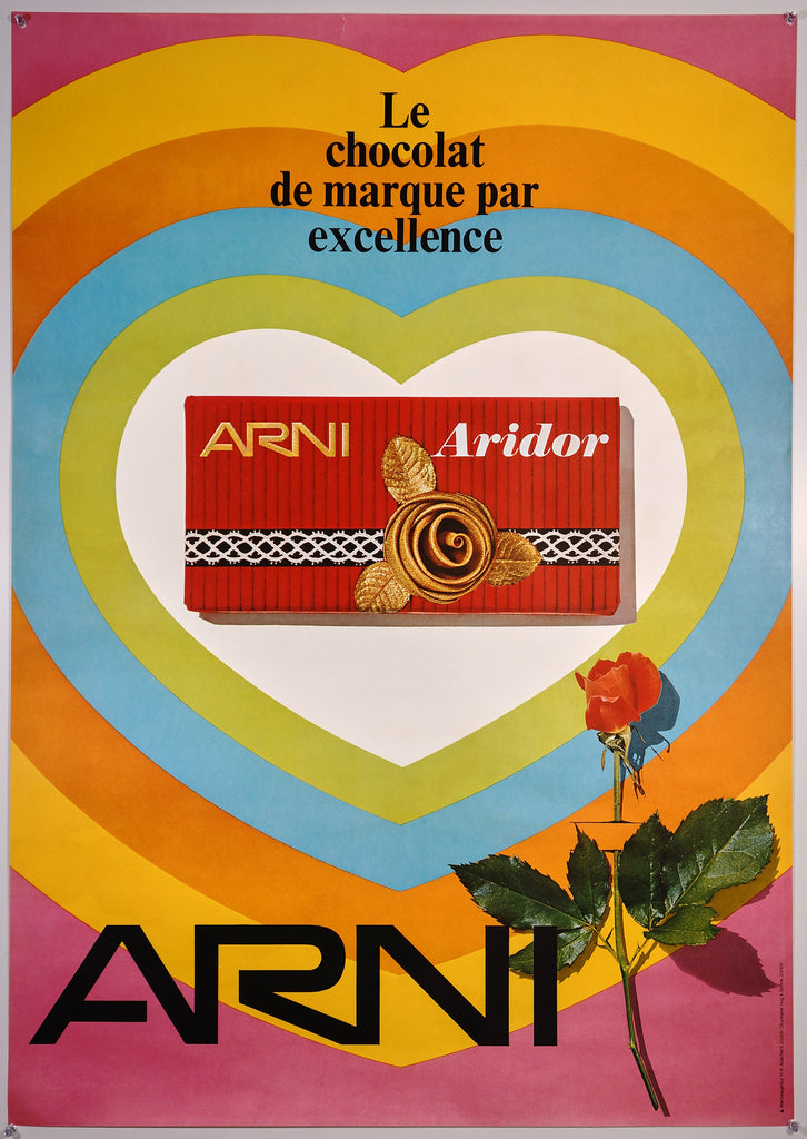 Arni Aridor (c1967) - Original and Authentic Vintage Poster