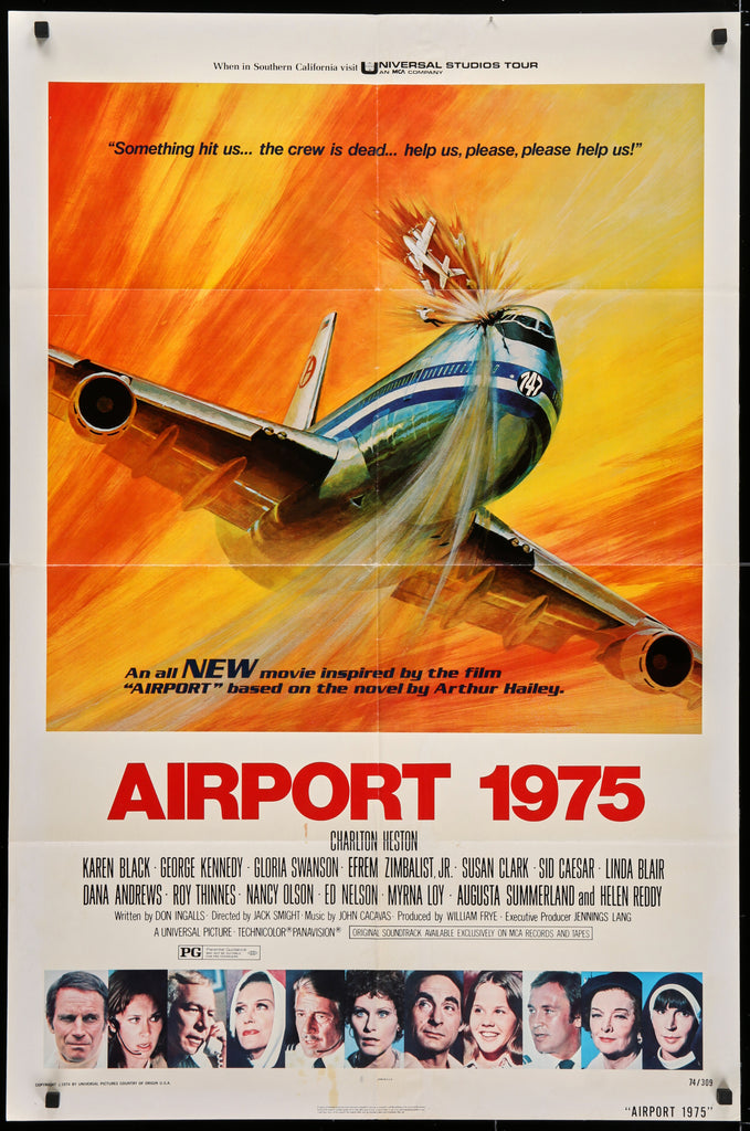 Airport 1975 (1974) - Original and Authentic Vintage Poster