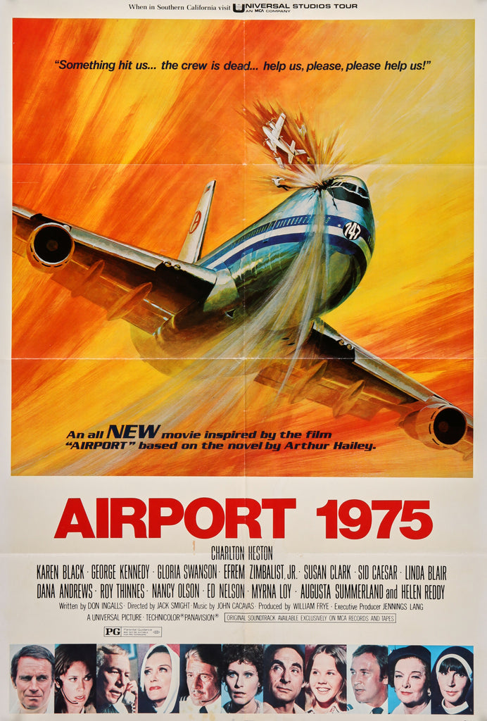 Airport 1975 (1974) - Authentic Vintage Posters