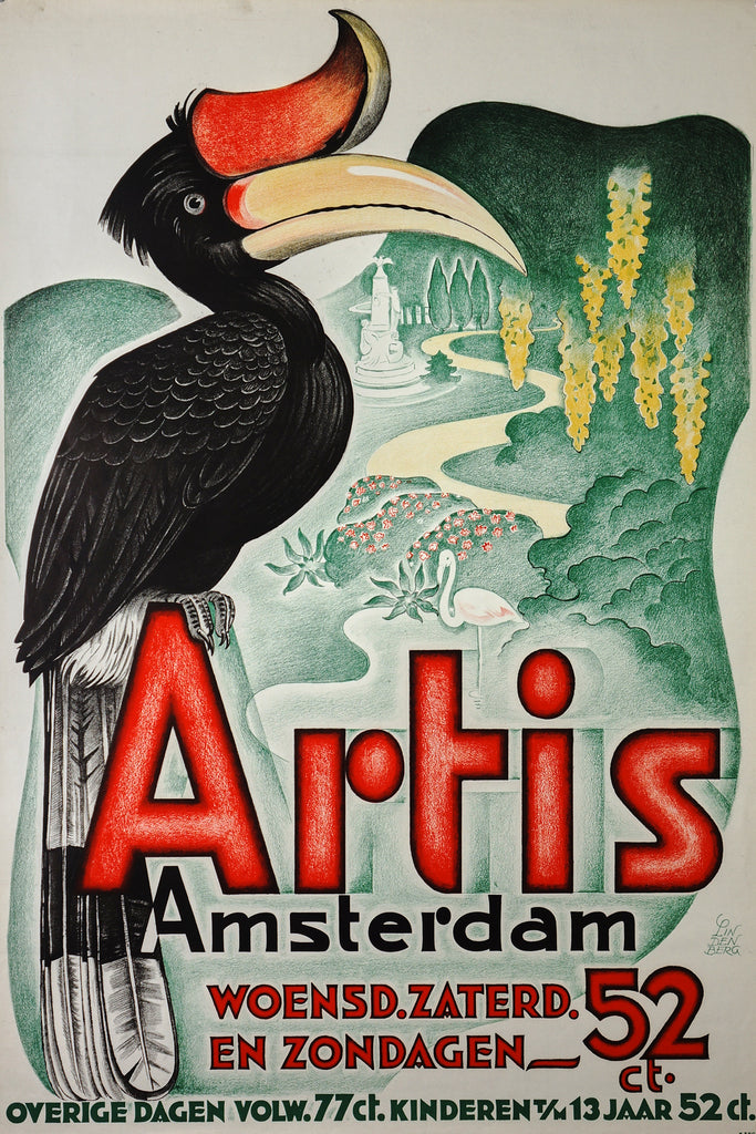 Artis Amsterdam (1942) - Authentic Vintage Posters