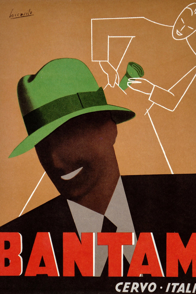 Bantam Hats (1950s) - Original and Authentic Vintage Poster