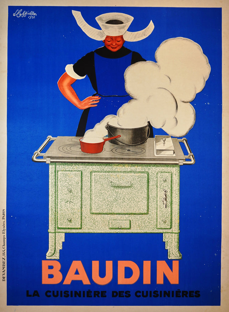 Baudin- Cappiello (1933) - Original and Authentic Vintage Poster
