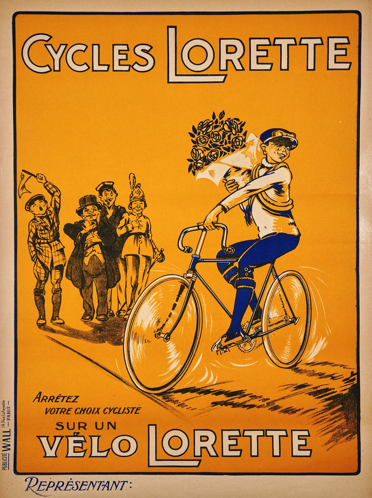 Cycles Lorette (1930s) - Authentic Vintage Posters