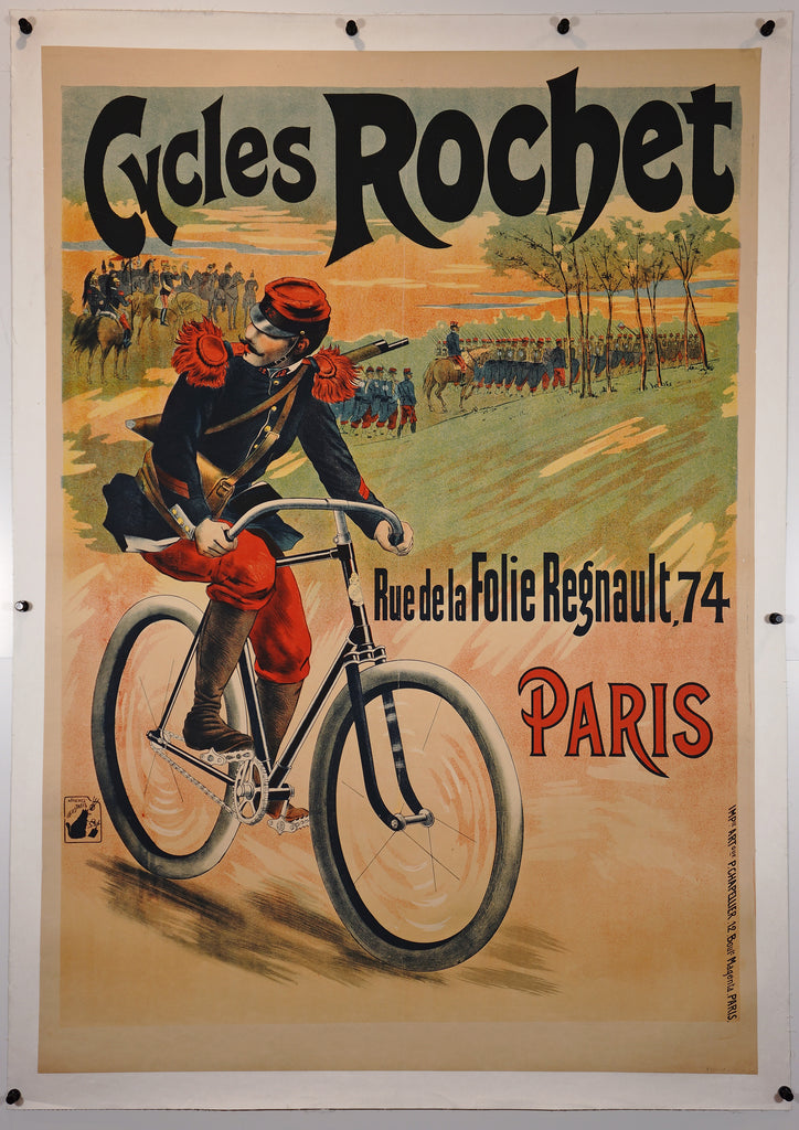 Cycles Rochet (1910) - Authentic Vintage Posters