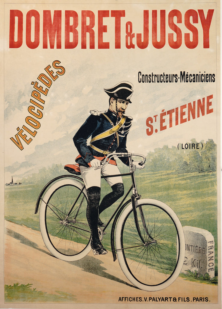 Dombret & Jussy (1895) - Authentic Vintage Posters