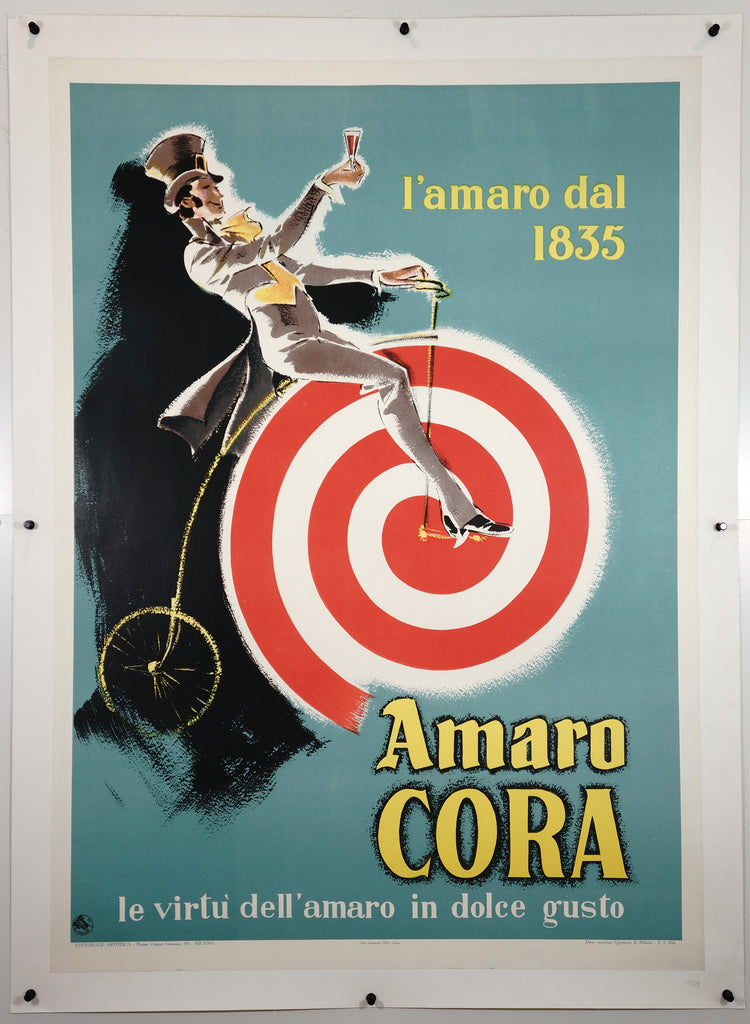Amaro Cora (1954) - Authentic Vintage Posters