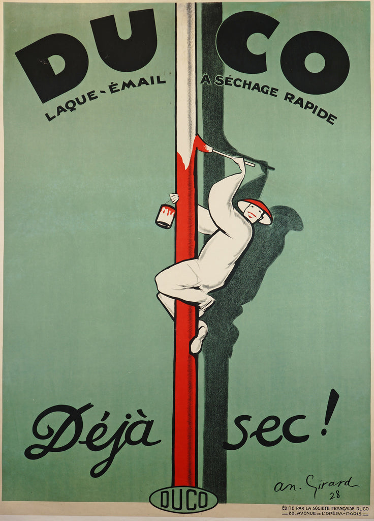 Duco (1928) - Original and Authentic Vintage Poster