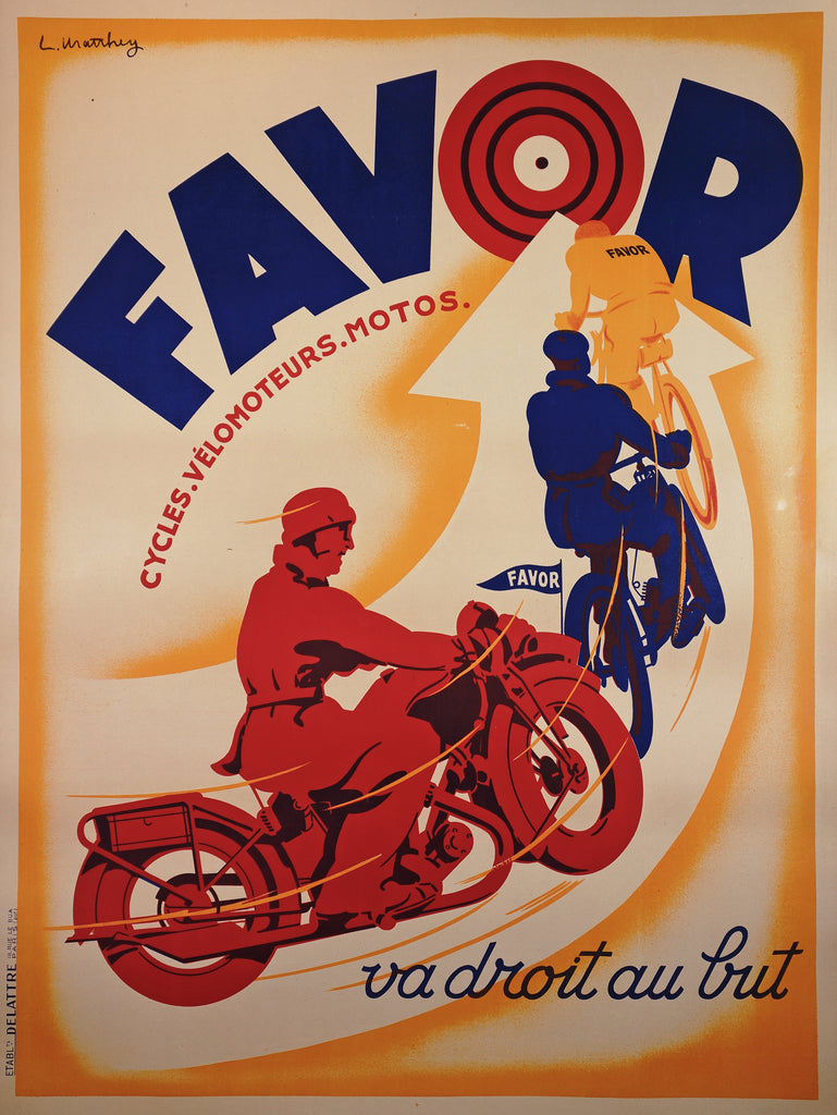Favor Bullseye (1930s) - Authentic Vintage Posters