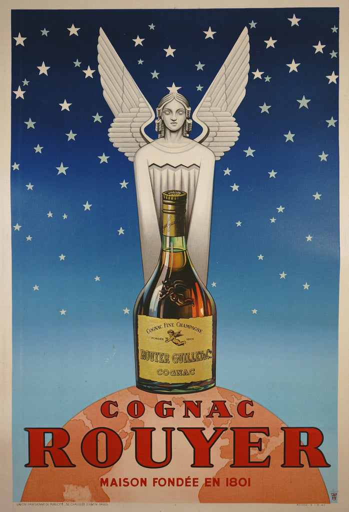 Cognac Rouyer (1945) - Authentic Vintage Posters