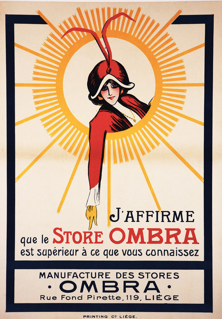 Store Ombra (1925) - Authentic Vintage Posters
