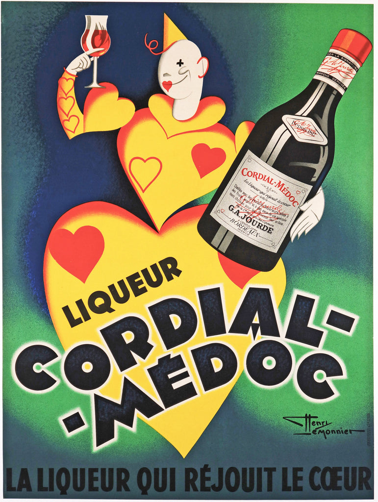 Cordial Medoc (1930s) - Original and Authentic Vintage Poster