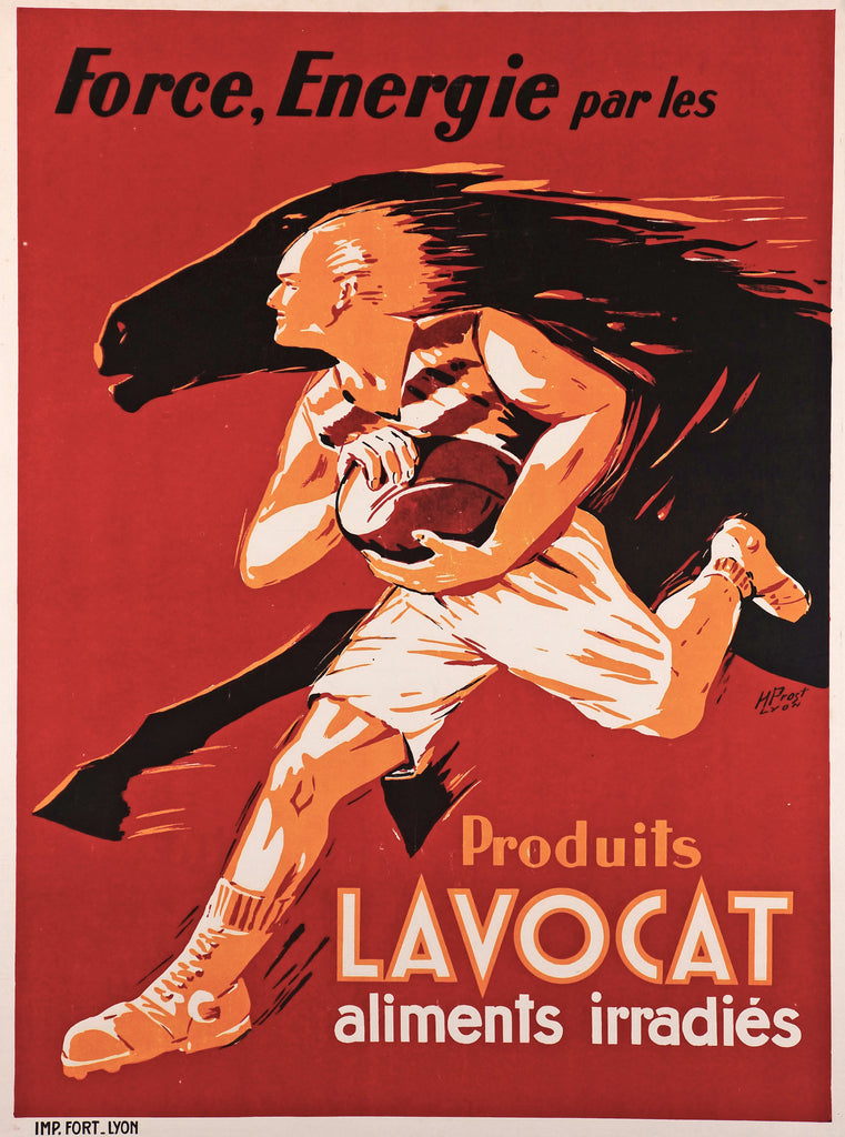 Produits Lavocat (1948) - Original and Authentic Vintage Poster