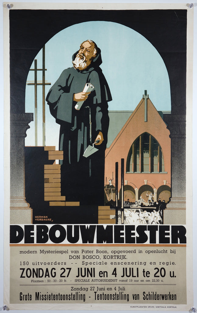 De Bouwmeester (1948) - Authentic Vintage Posters