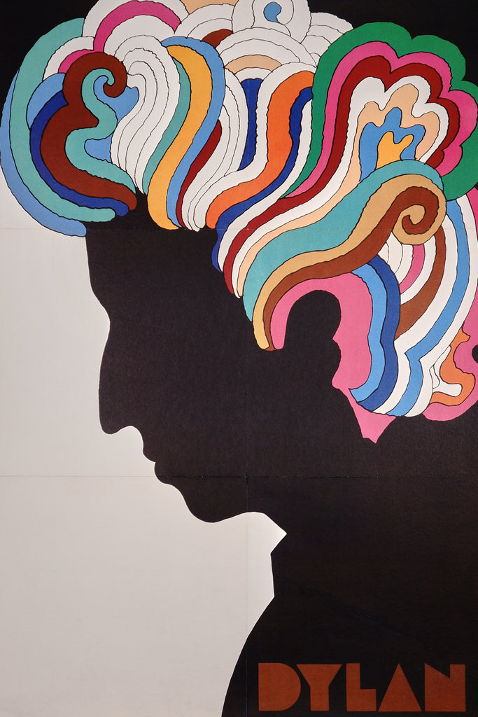 Dylan by Glaser (1967) - Original and Authentic Vintage Poster