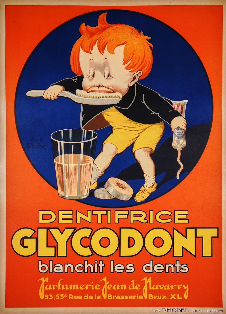 Glycodont Dentifrice (1920s)