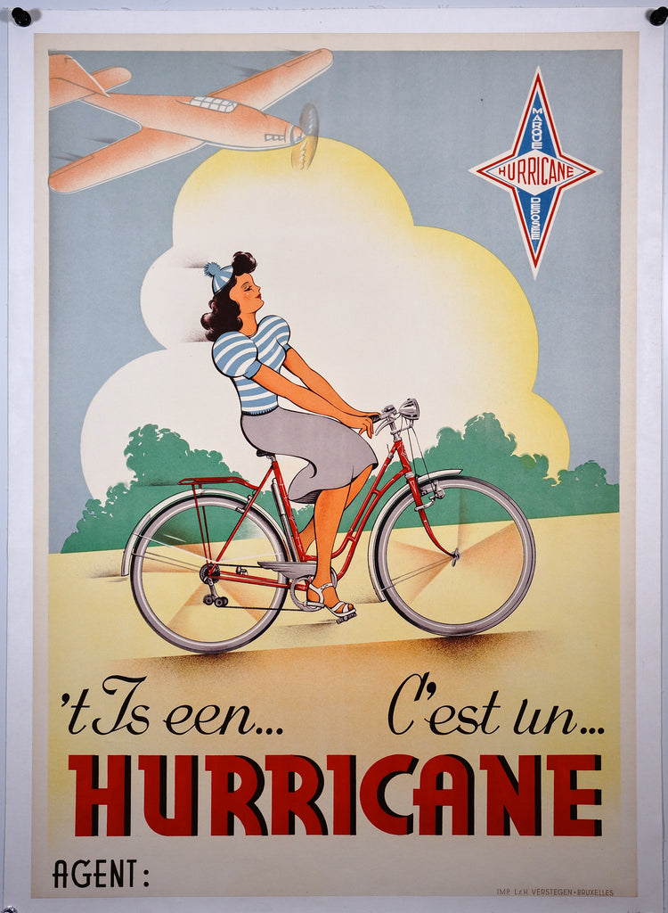 Hurricane Bicycles (1950s)