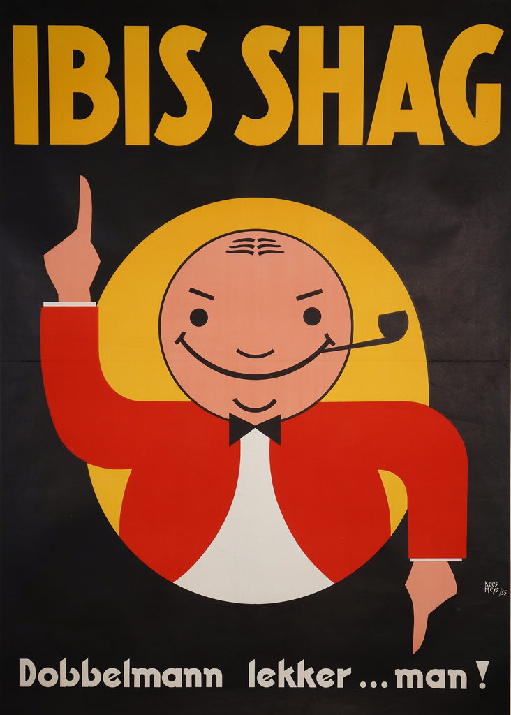 Ibis Shag (1935) - Original and Authentic Vintage Poster