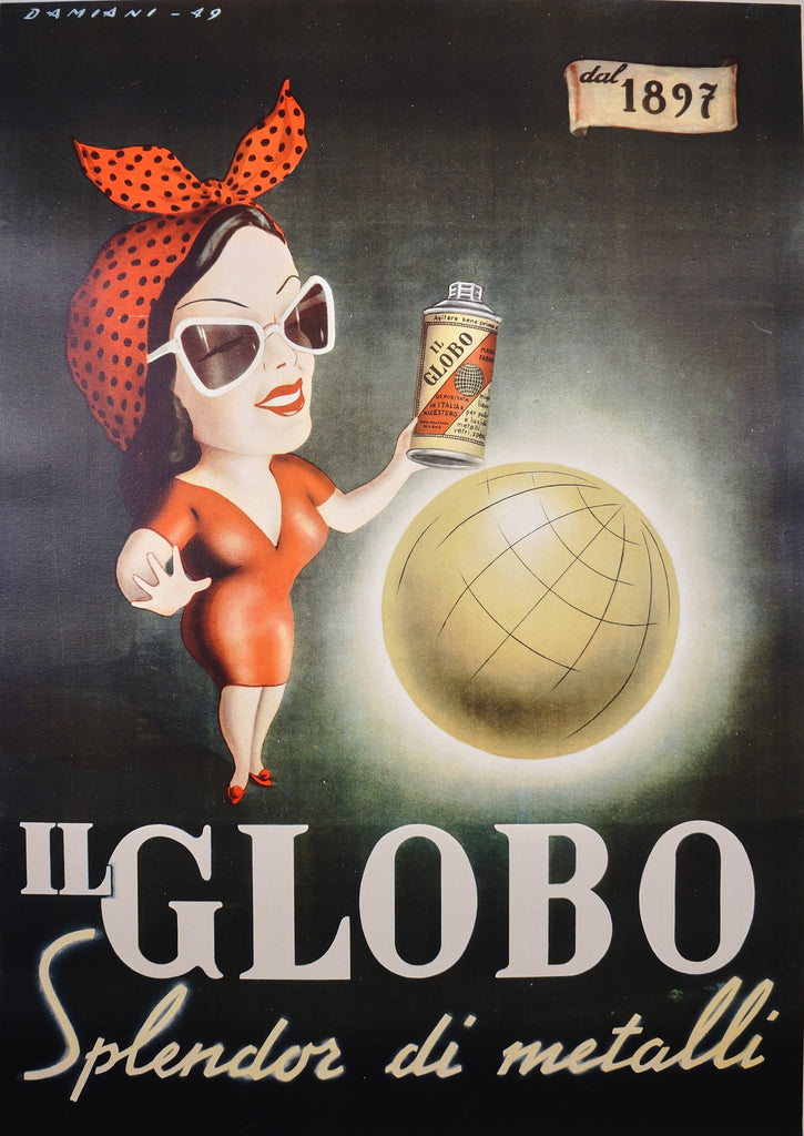 Il Globo (1949) - Original and Authentic Vintage Poster