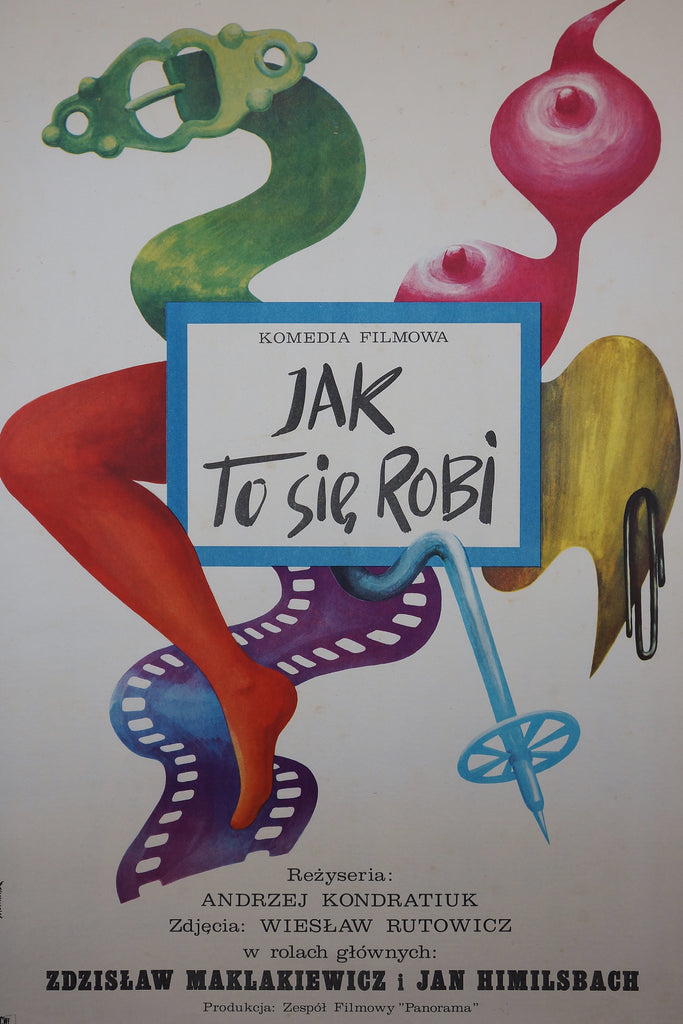 Jak To Sie, Robi (1974) - Original and Authentic Vintage Poster