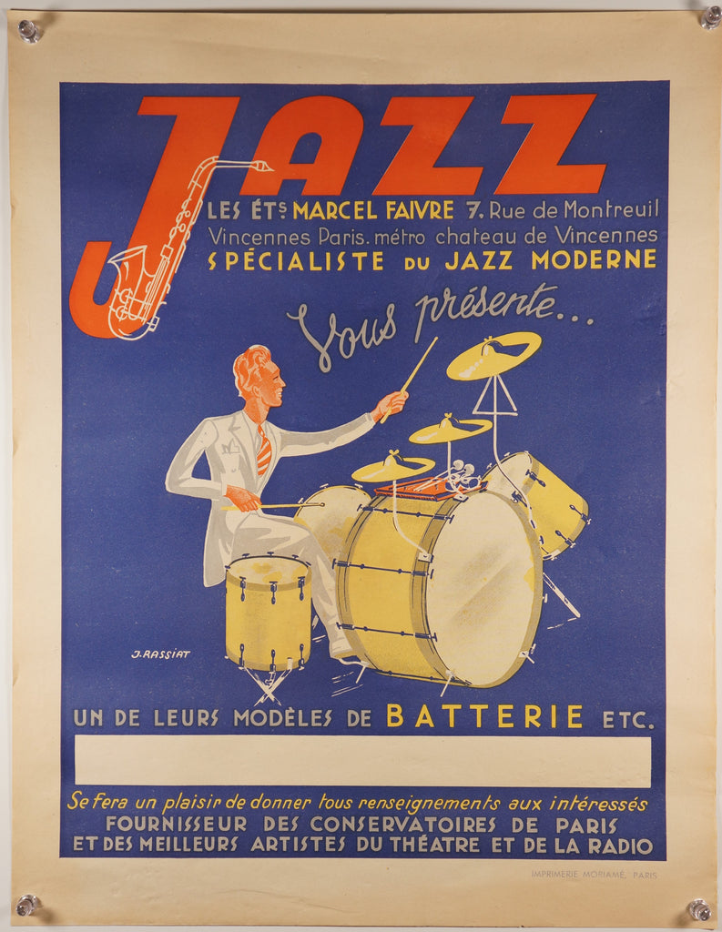 Jazz Moderne, Paris (1930s)
