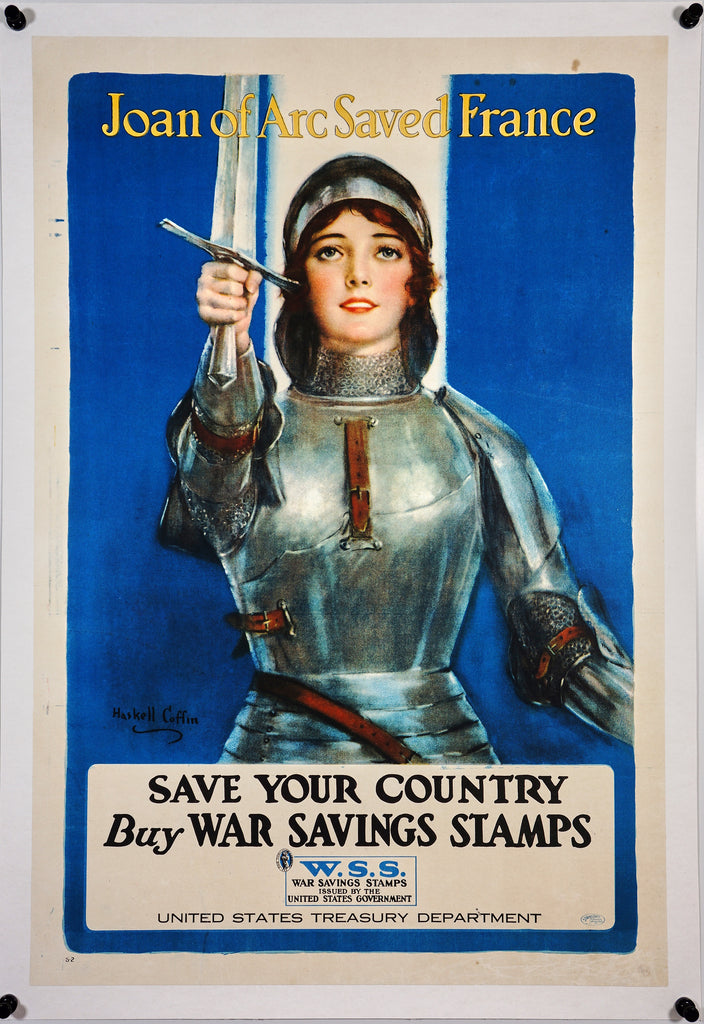 Joan of Arc Saved France (1918)