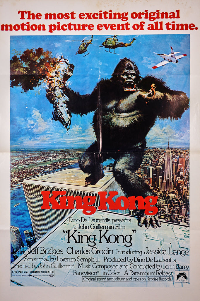 King Kong (1976) - Original and Authentic Vintage Poster