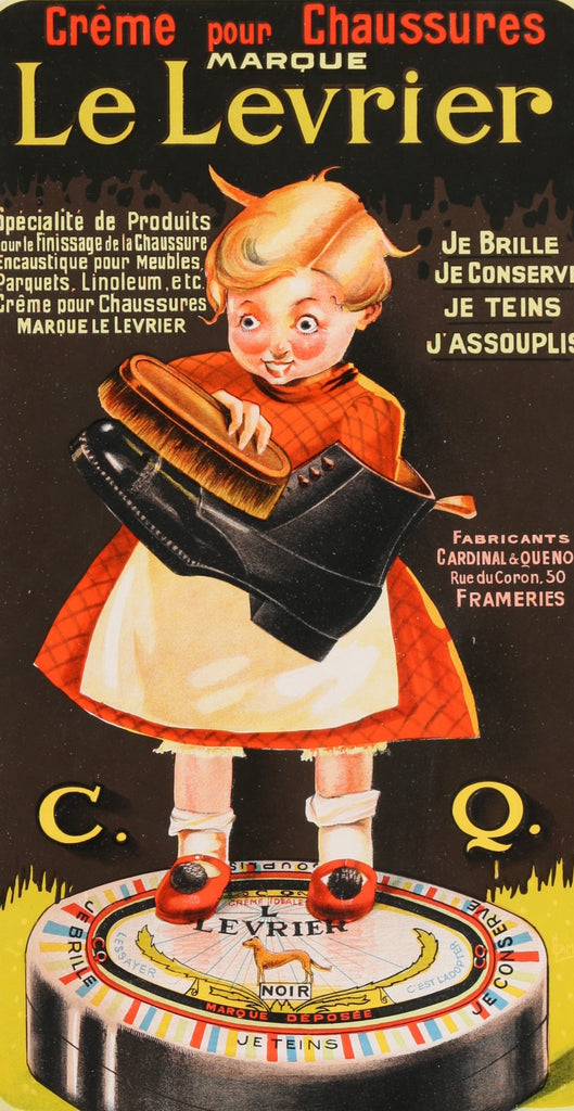Le Levrier (1920s) - Original and Authentic Vintage Poster